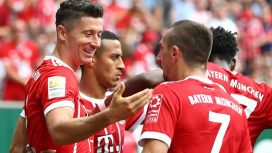 Robert Lewandowski FC Bayern 26082017