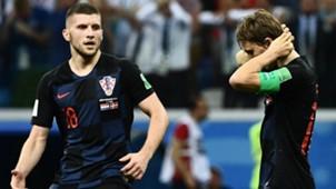 Ante Rebic Luka Modric Croatia Denmark WC 01072018