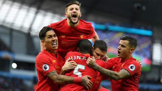 HD Liverpool celebrate v Man City