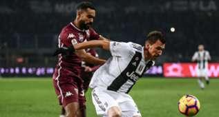 Djidji Mandzukic Torino Juventus