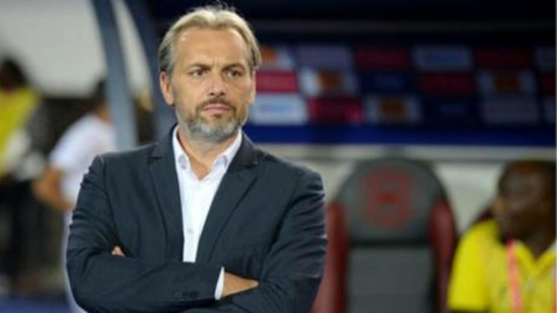 Uganda head coach Sebastien Desabre