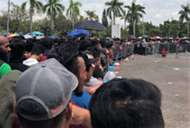 Fans queueing up at Shah Alam for tickets 28082017