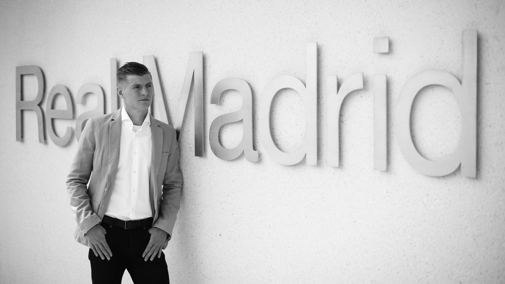 Toni Kroos Real Madrid 12042015