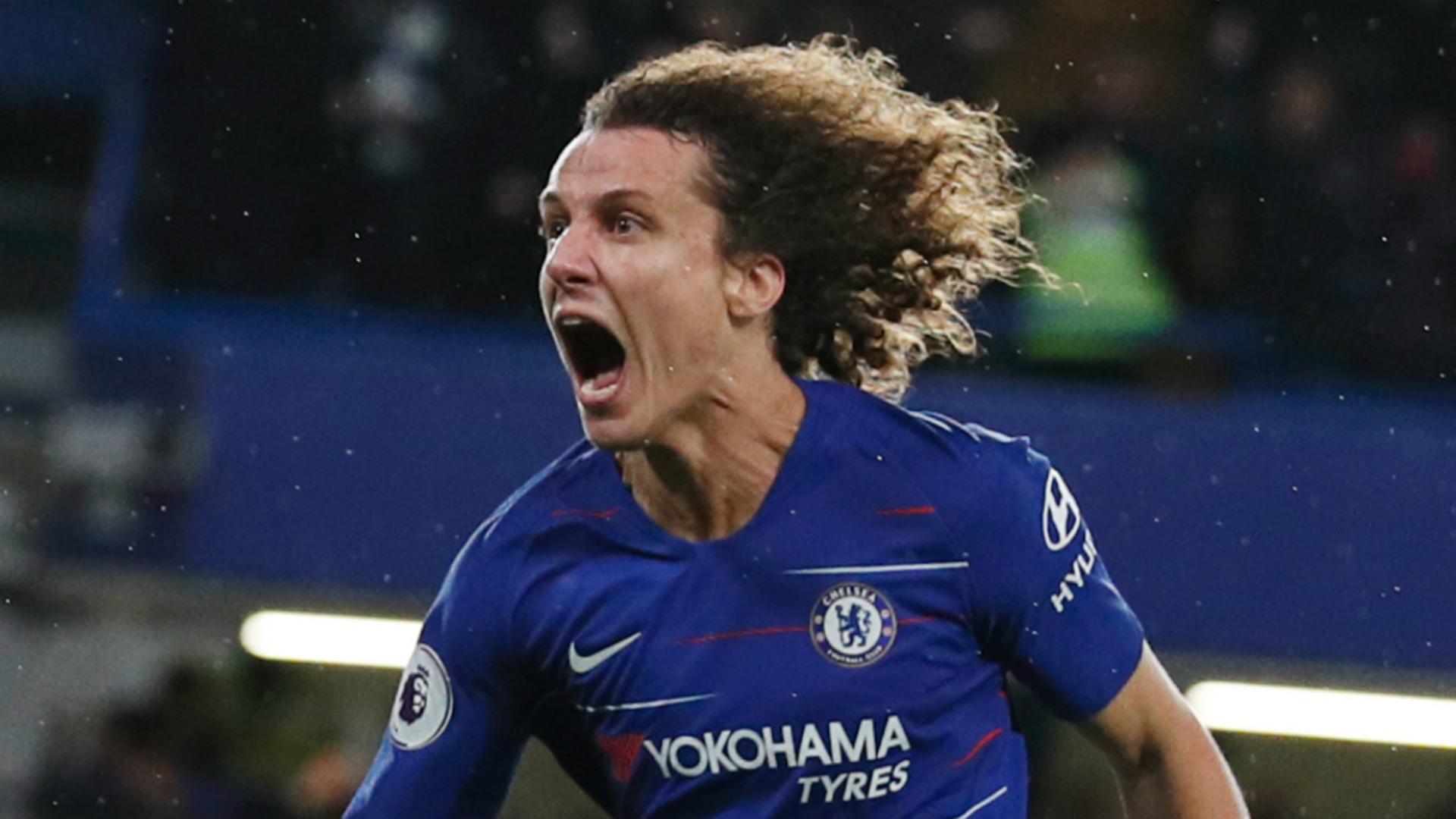 David Luiz Chelsea 2018