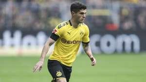 Christian Pulisic Borussia Dortmund Bundesliga 2019