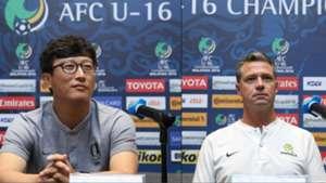 South Korea, Australia, AFC U16 Championship