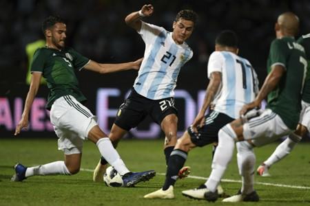 Argentina México Paulo Dybala Diego Reyes