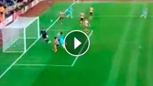 Sergio Aguero 3-0 play