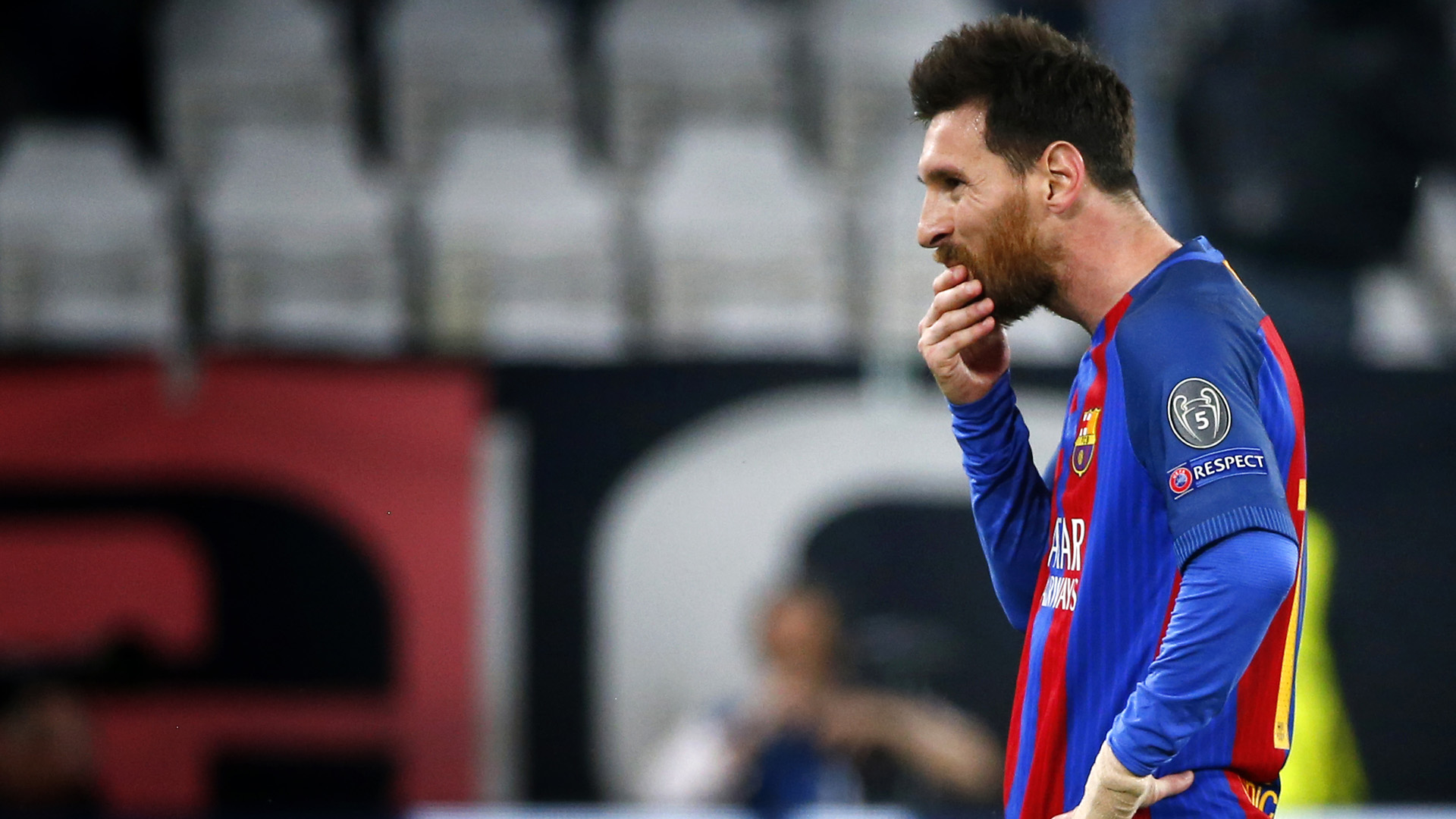 lionel messi barcelona champions league 041117
