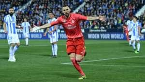 Karim Benzema Leganes Real Madrid LaLiga 15042019