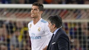 Cristiano Ronaldo injury Real Madrid Barcelona