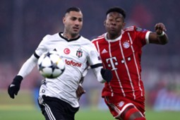 David Alaba Ricardo Quaresma Bayern Munchen Besiktas Champions League 20022018