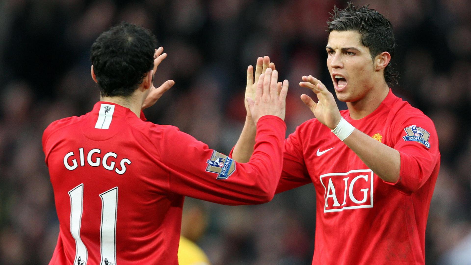 Cristiano Ronaldo Ryan Giggs Manchester United
