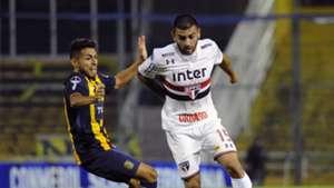 Liziero Federico Carrizo Rosario Central Sao Paulo 12042018 Copa Sudamericana