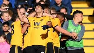 Raul Jimenez Chelsea vs Wolves 2018-19