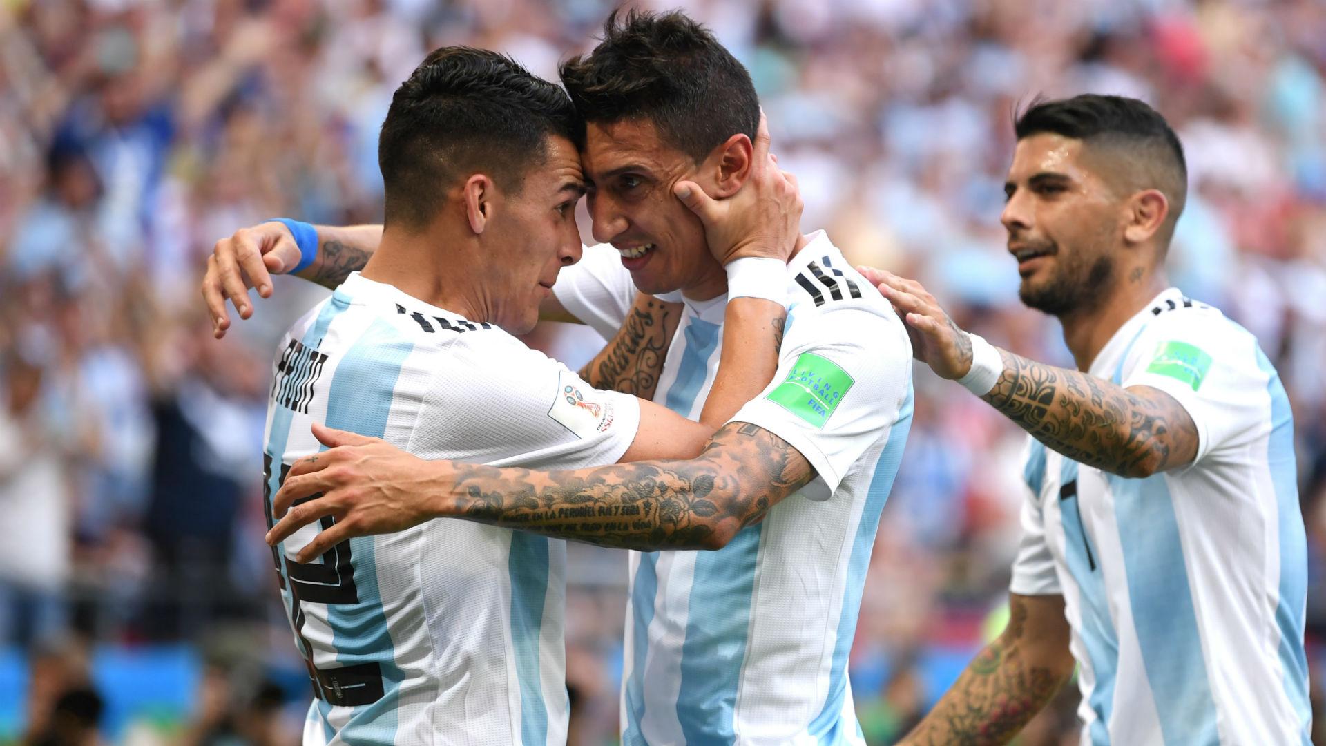 Pavon Di Maria Banega Argentina France Francia World Cup  2018 30062018