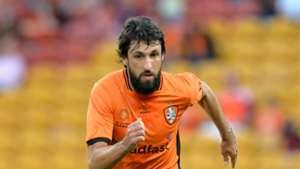 Thomas Broich Brisbane Roar v Wellington Phoenix A-League 16042017