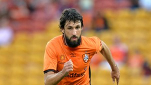 Thomas Broich Brisbane Roar v Wellington Phoenix A-League 16042017