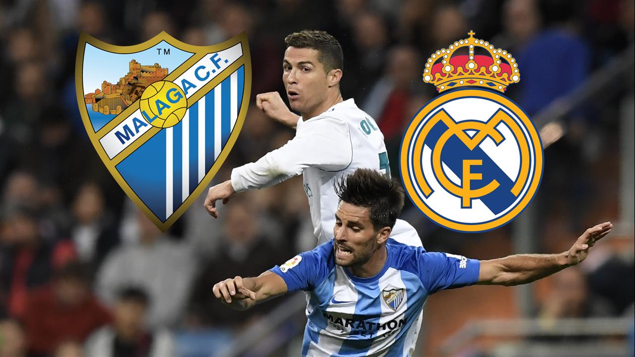 Fußball: Real Madrid nach Sieg über Malaga auf Rang drei
