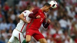 Cristiano Ronaldo Portugal Poland Euro 2016