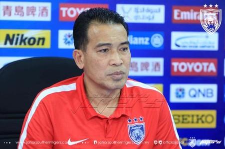 Ismail Ibrahim Johor Darul Ta'zim AFC Cup 18042017