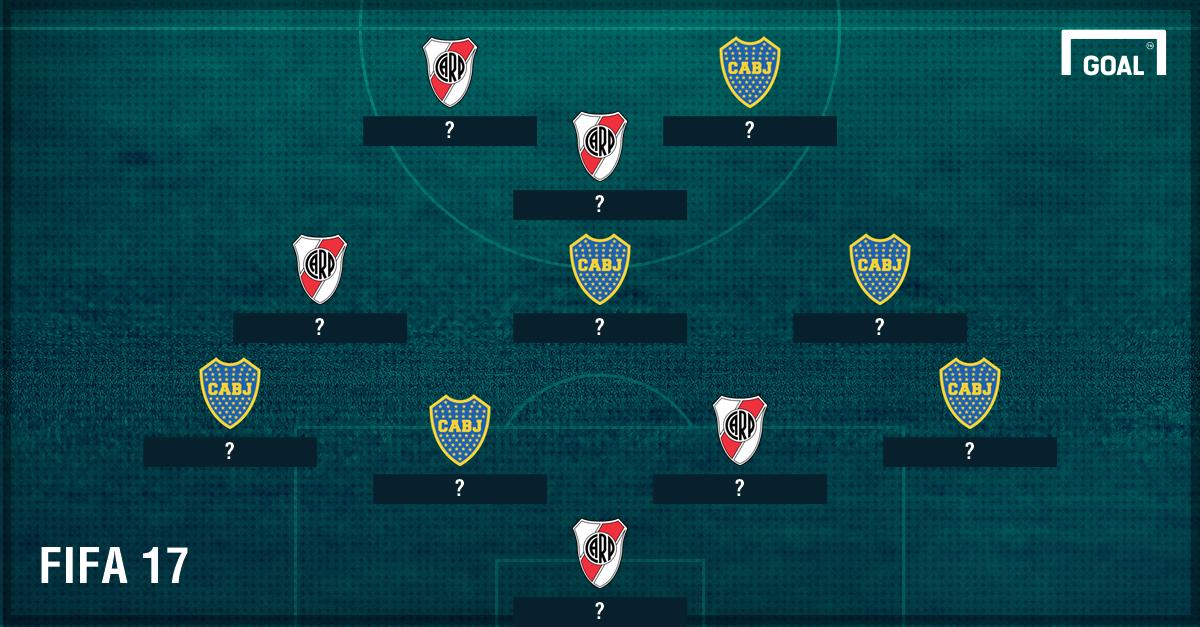 XI Boca Juniors River Plate FIFA 17