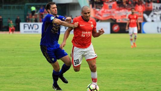 Bruno Lopes - Persija Jakarta & Vladimir Vujovic - Persib Bandung