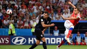russia croatia - dejan lovren artem dzyuba - world cup - 07072018