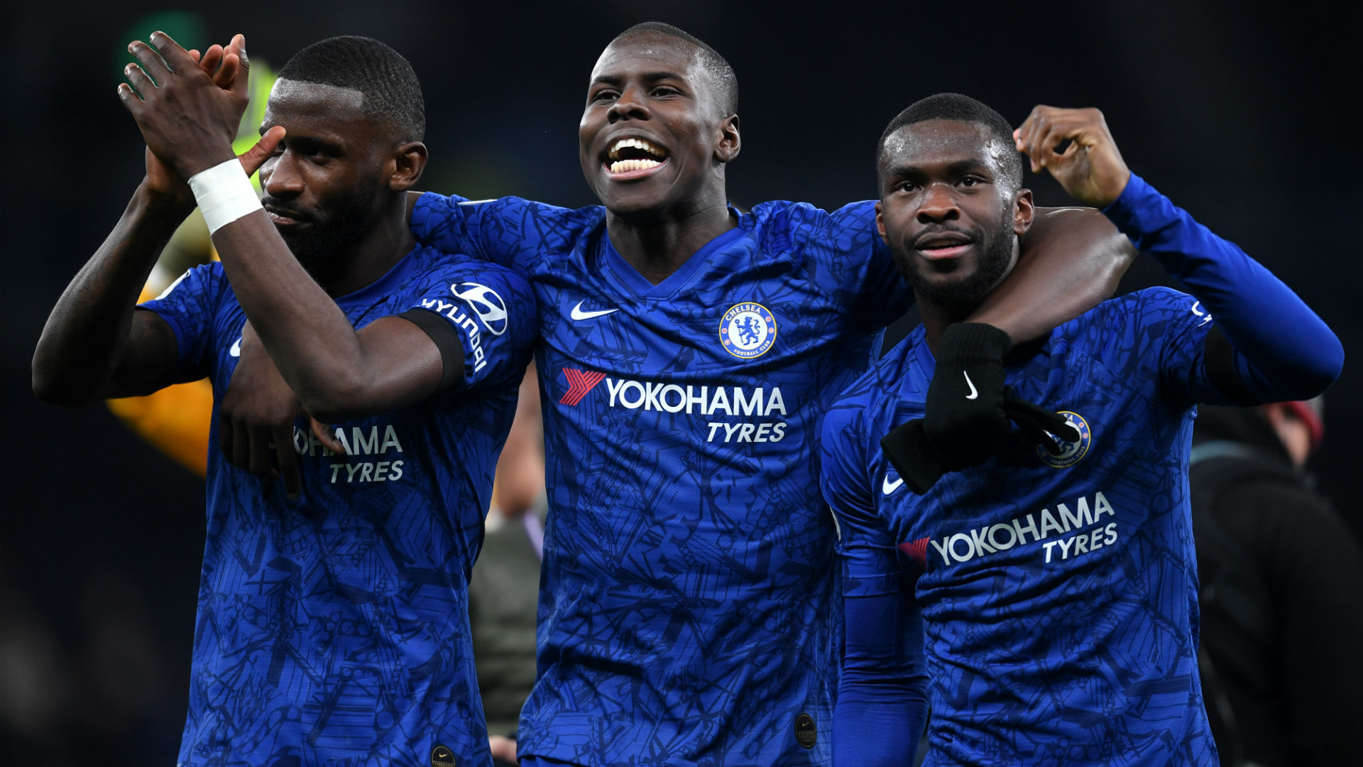 Rudiger, Zouma and Tomori - Chelsea 2019-20