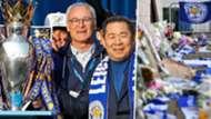 Vichai Srivaddhanaprabha and Claudio Ranieri, Leicester City, 2016