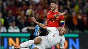 Eric Dier Sergio Ramos England Spain Nations League 2018