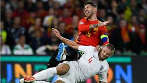 Eric Dier Sergio Ramos England Spain Nations League 2018