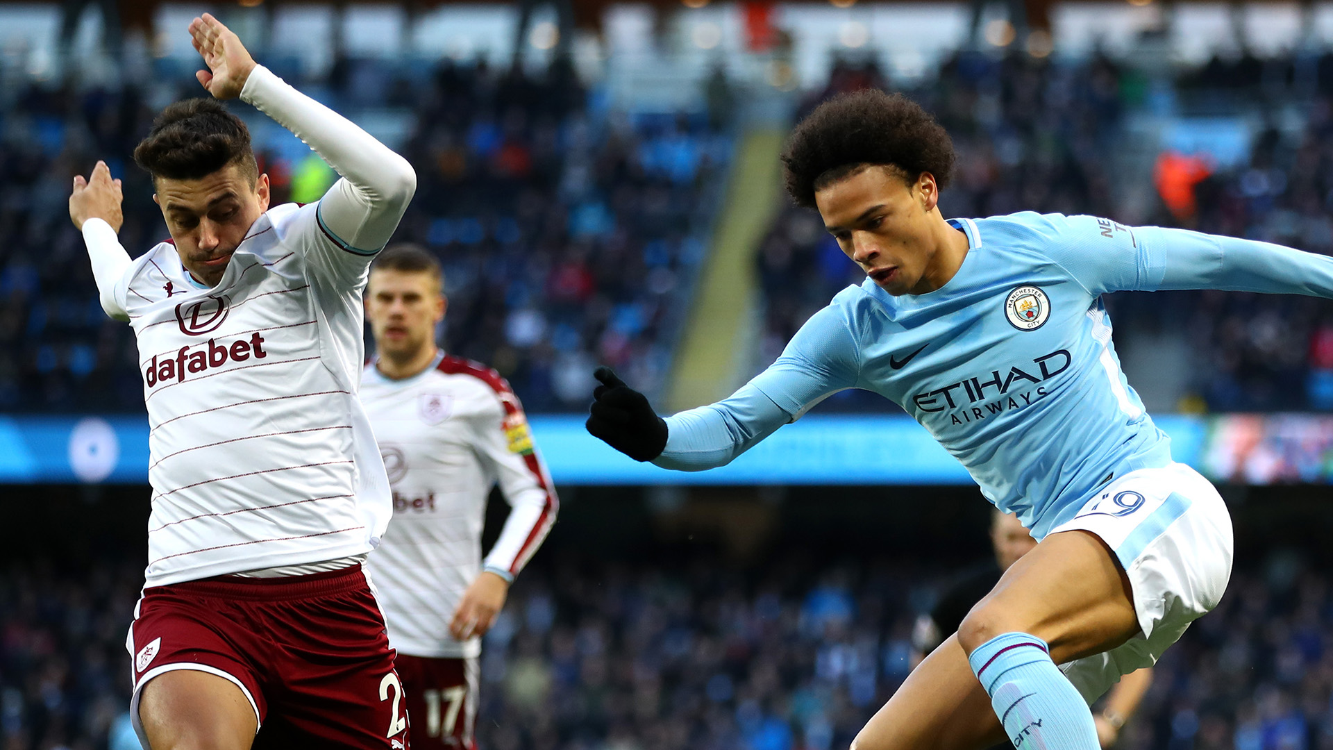 Leroy Sane Manchester City Burnley