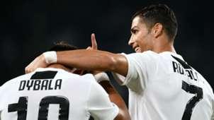 Paulo Dybala Cristinao Ronaldo Juventus Bologna Serie A 26092018