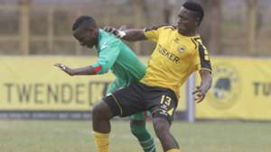 MICHAEL MADOYA of Zoo Kericho HASHIM SEMPALA of Tusker.