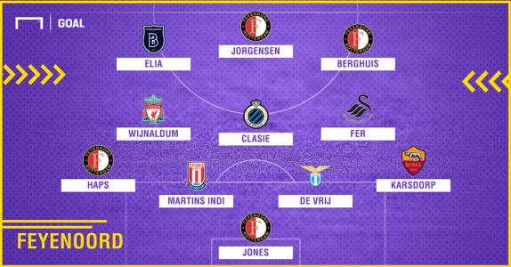 Feyenoord 2010-2018 composition
