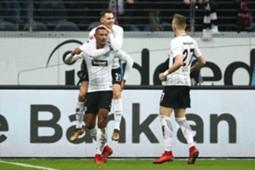 Sebastian Haller Eintracht Frankfurt SC Freiburg Bundesliga 13012018