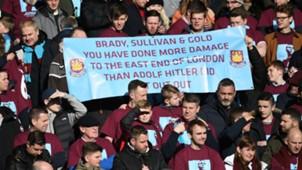 West Ham Hitler Banner 24022018