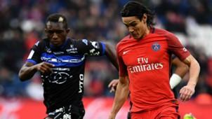 Edinson Cavani Abdoulaye Keita PSG Bastia Ligue 1 06052017