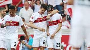 Mario Gomez Christian Gentner VfB Stuttgart Bundesliga 05052018