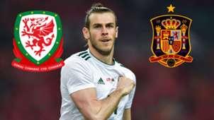 GFX Gareth Bale Wales 2018