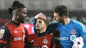 Sebastian Giovinco Alex Bono Tosaint Ricketts Toronto FC CONCACAF Champions League