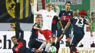 EMIL FORSBERG LEIPZIG BAYERN MÜNCHEN GERMAN CUP DFB POKAL 25102017