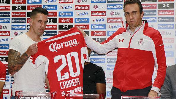 Javier Cabrera Toluca 081118