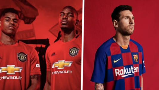 d428943bf1 Man United, Barcelona e mais: Os uniformes para a temporada 2019/20 do  futebol europeu | Goal.com