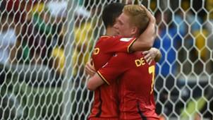 Eden Hazard Kevin de Bruyne Belgien Belgium 06222014