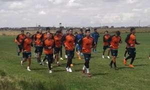 San José, entrenamientos