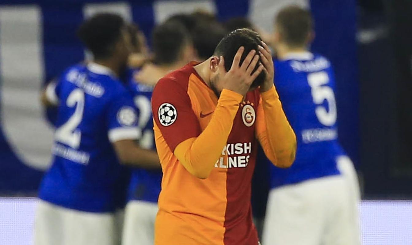 Schalke 04 Galatasaray Frustration UEFA Champions League 11/07/18
