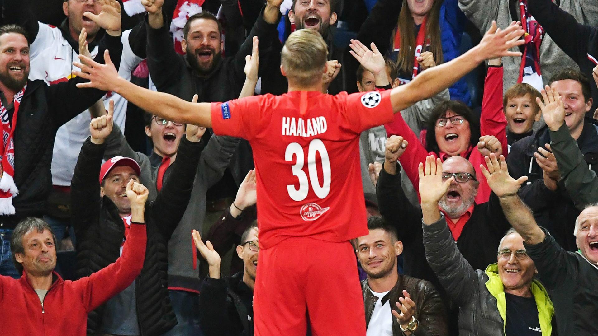 Erling Haaland Salzburg 2019-20