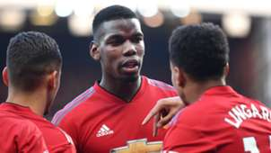 Paul Pogba Jesse Lingard Manchester United 2018-19